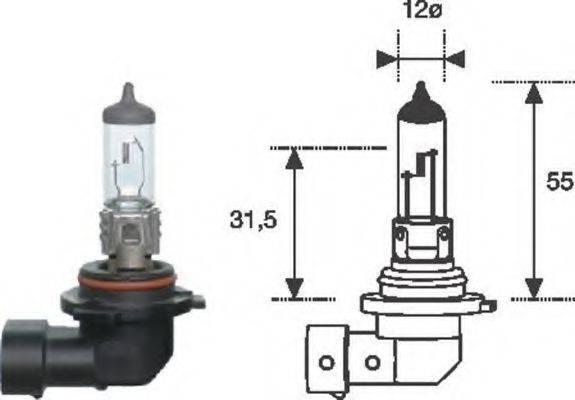 Лампа накаливания MAGNETI MARELLI 002577300000