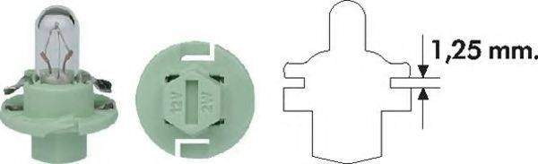 Лампа накаливания, освещение щитка приборов; Лампа накаливания MAGNETI MARELLI 002053100000