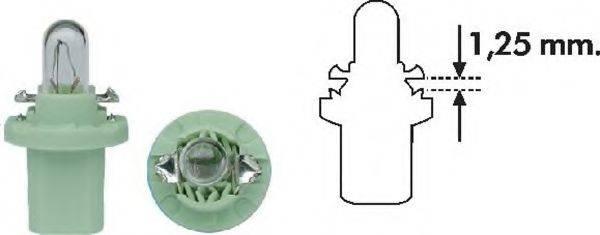 Лампа накаливания, освещение щитка приборов; Лампа накаливания MAGNETI MARELLI 002051400000